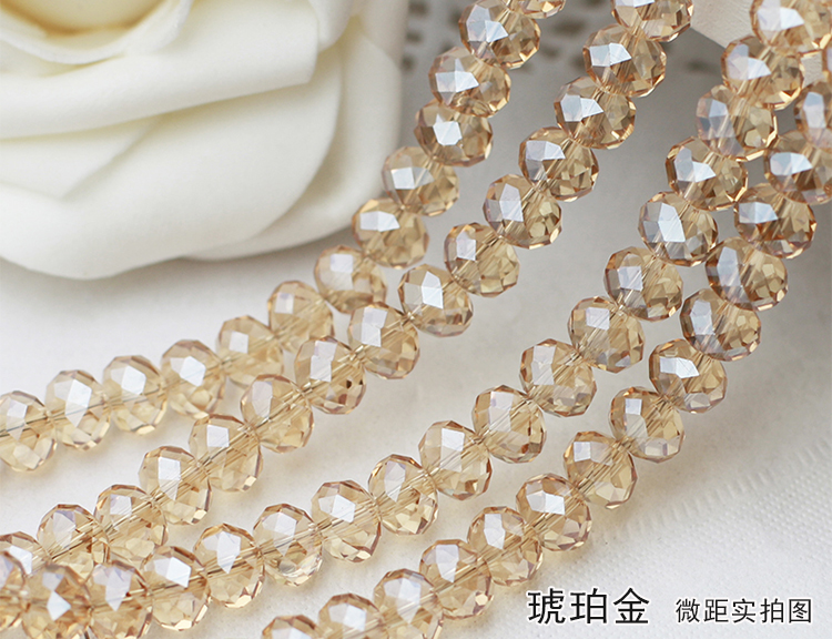Amber gold Color 2mm,3mm,4mm,6mm,8mm 10mm,12mm 5040# AAA Top Quality loose Crystal Rondelle Glass beads emerald color 2mm 3mm 4mm 6mm 8mm 10mm 12mm 5040 aaa top quality loose crystal rondelle glass beads