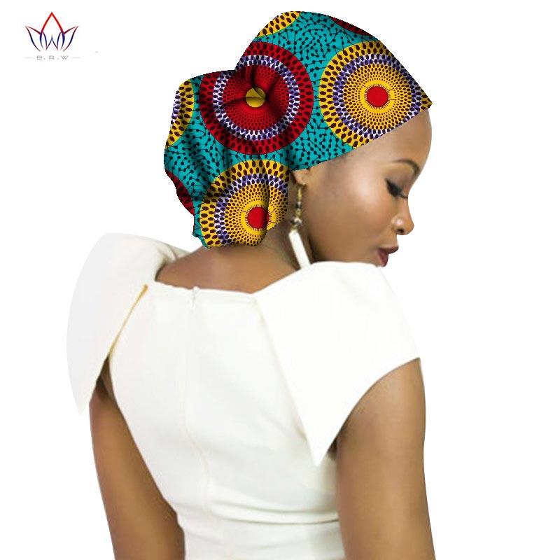 Fashion 2018 New Style African   Headwear   For Women Ankara Headband Decorations Wrap Tie Scarf Africa Hair Accessories BRW WYB65
