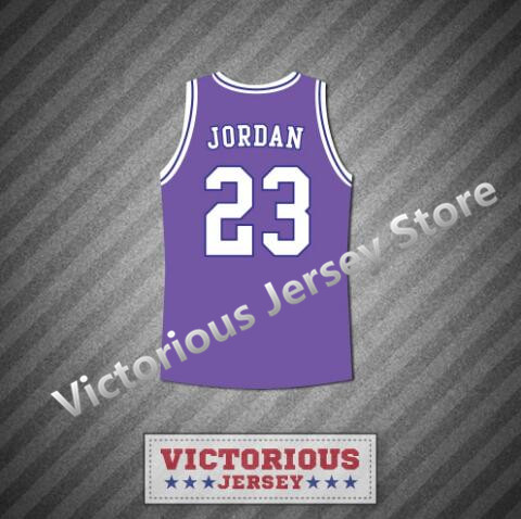 23ca7ab6aba Minanser Michael Jordan 23 Space Jam Tune Squad Purple Basketball Jersey  Men-in Basketball Jerseys from Sports & Entertainment on Aliexpress.com |  Alibaba ...