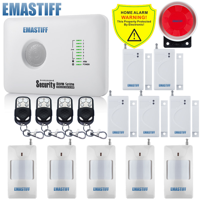 free shipping Russian / English language GSM alarm system with wireless wired zone IOS & Andriod APP control relay output разговорник для англоговорящих english russian phrase book