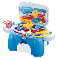 Multifunction Doctor Play Set Toys With Portable Storage Chairs Simulation For Children Pretend Play House Doctora