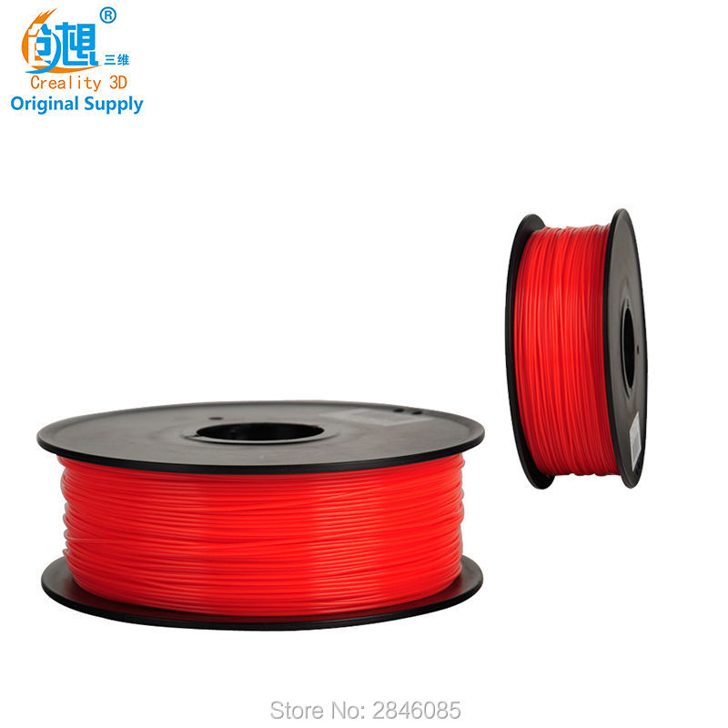 Factory Price CREALITY 3D TPU Filament Red Color 3D Printer Samples 1KG/roll 1.75mm for 3D Printer /3D Pen/Reprap/Makerbot сифон home bar smart 110 ng white