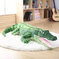 New Coming 105 165cm Cartoon Style Lovely Crocodile Plush Toy Lifelike Crocodile Cloth Doll Stuffed Kids