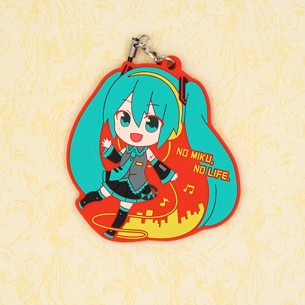 VOCALOID 2 Game Hatsune Miku Rubber Keychain vocaloid 3 hatsune miku kaito cosplay shoes anime boots