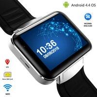 3G Android Montre Smart Watch Téléphone Bluetooth Quad Core Sport Montre-Bracelet DM98 Smartwatch Soutient WCDMA GPS Wifi Whatsapp Skype 2017