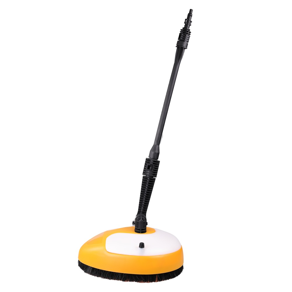 1Piece High Pressure Washer Surface Cleaner Garden Floor Cleaning Brush Garden Cleaning Tool high pressure air pulse car cleaning gun with brush multifunctional surface interior exterior cleaning kit eu type fast cleaning