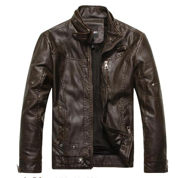 Spring Brand leather jacket Men Motorcycle Leather Clothing Men Autumn winter Leather Jackets Male casual Coats jaqueta de couro