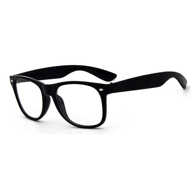 2017 Full Frame Armações de Óculos Mulheres Armação de Óculos Homens Olho  lente Simples espelho óculos 27a3f88b14