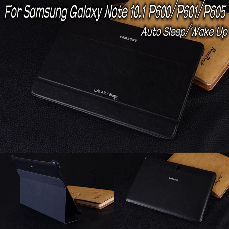 Ultra-thin Magnetic Stand Smart PU Leather Cover for Samsung Galaxy Note 10.1 2014 Edition Tablet Funda Case+Free Stylus Pen ultra thin smart pu leather cover case stand cover case for 2015 lenovo yoga tab 3 8 850f tablet free film free stylus