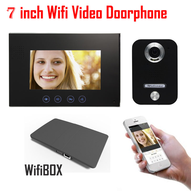 Wireless WiFi IP BOX For Video Doorphone Doorbell Building Intercom System Control 3G 4G Android iPhone ipad APP on Smart Phone - 6