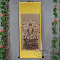 Exquisite Chinese Antique collection Imitation ancient Thousand hand Bodhisattva portraits No.7