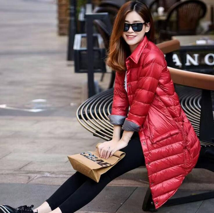 luxury   down     coats   women Winter   Coats   Long Cotton Casual Fur Hooded Jackets Ladies Warm Winter Parkas Female Overcoat Women   Coat