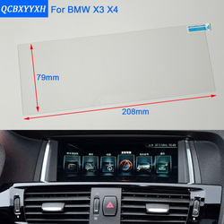 QCBXYYXH Para BMW X3 X4 X5 X6 Car Styling Navegação GPS Vidro Da Tela De Exibição de Painel Película Protetora Película Protetora