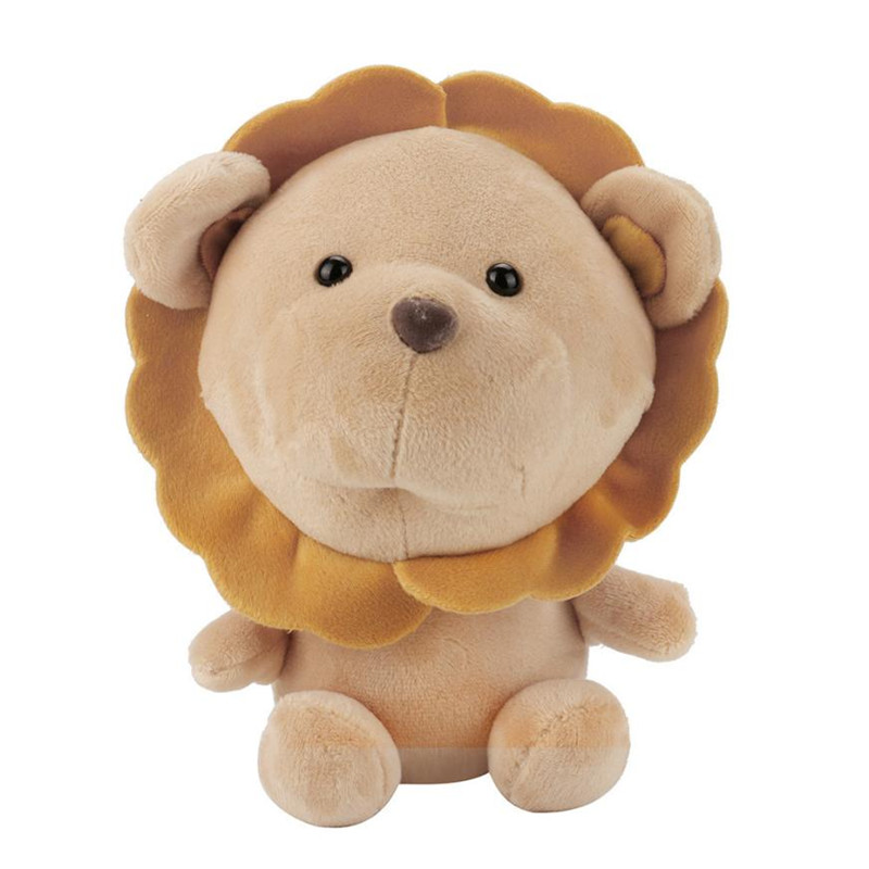 lovely brown lion stuffed animals soft toys baby dolls 14 CM new