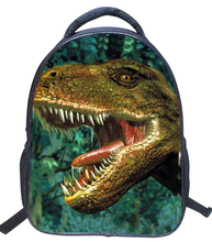 16 inch Dinosaur Kids Backpack for Boys Girls Zoo Animal Children Back Pack Mochila Infant Child Shoulder Bags