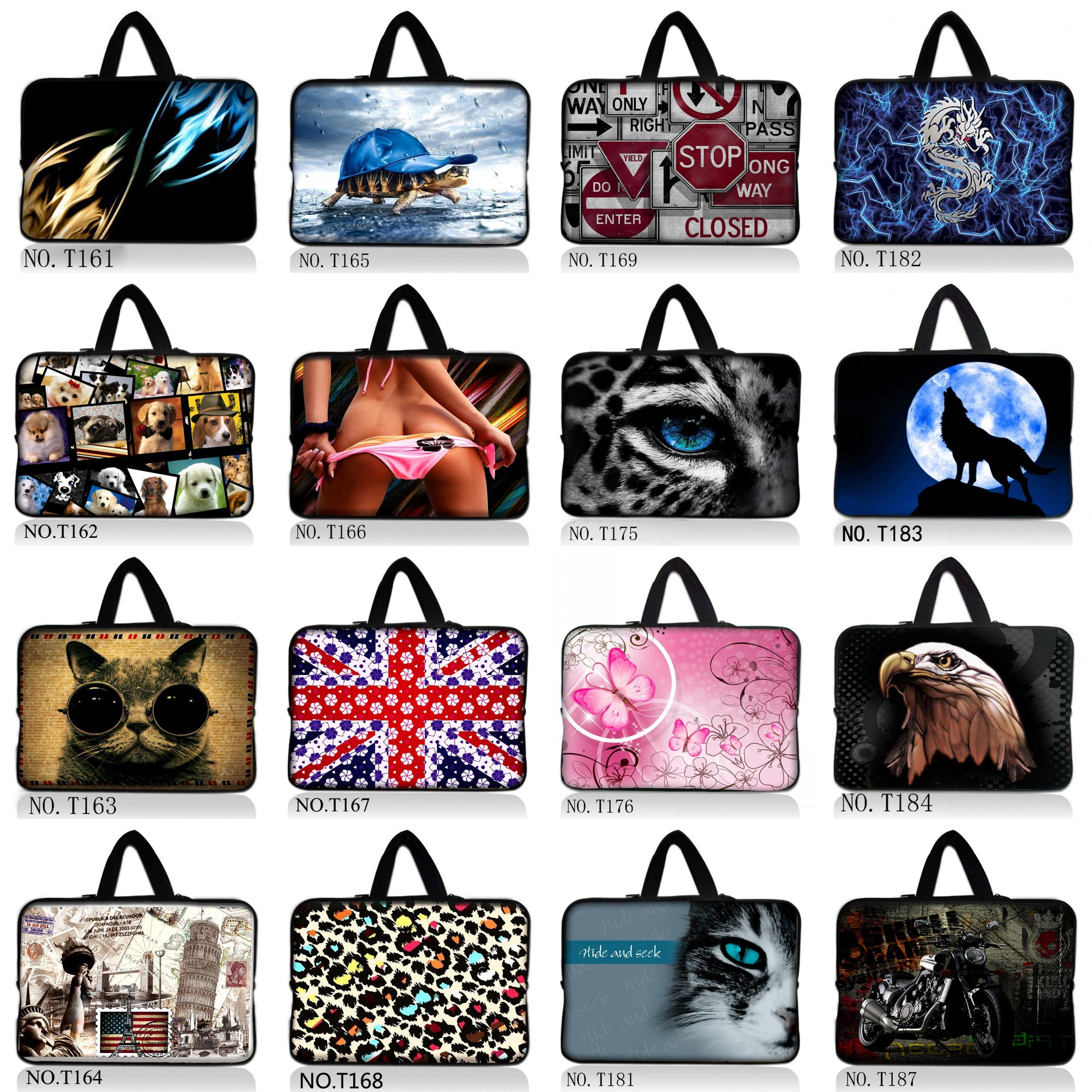 "For 13/""~17/"" inch Laptop Universal NoteBook Handle Sleeve Case Shoulder Bag Pouch"