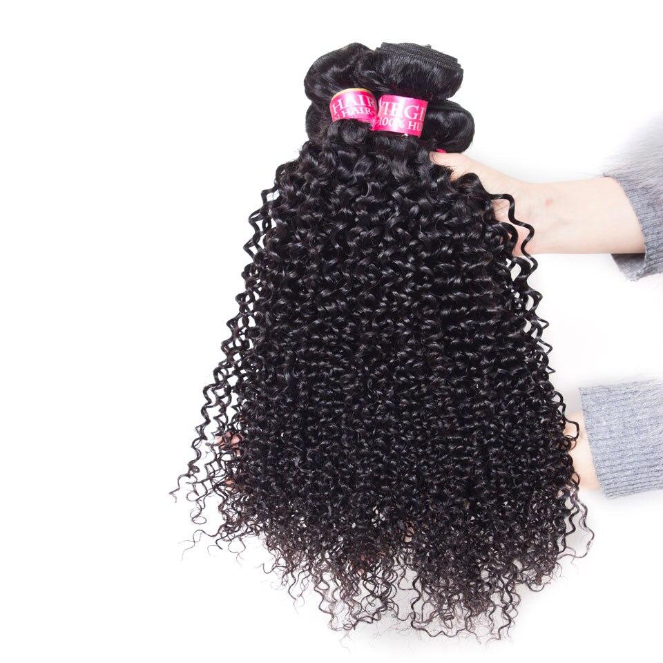 lanqi mongolian Afro kinky curly hair bundles human hair bundle non remy deep curly Brazilian Peruvian hair weave hair extensions Can Buy 3 4 Bundles
