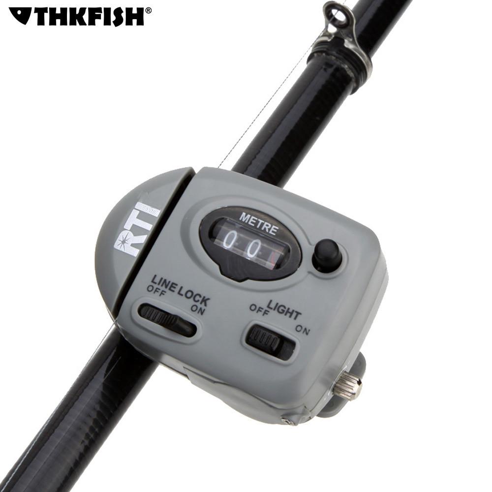 Hot fishing line counter professional 99 9m digital for Digital fishing reel