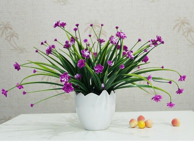 Simulasi Elan Bunga Dekorasi Buatan Plastik Vas Ruang Tamu Di Dari Rumah Taman Aliexpress Alibaba Group