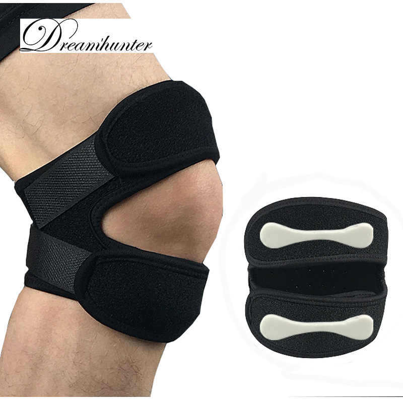 ae74917131 Outdoor Patella Knee Strap Protector Breathable EVA Basketball Cycling  Hiking Knee Brace Leg Guard Sports Safety