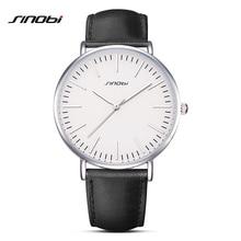 SINOBI Brand Luxury Men Watches Male Quartz Clock Ultra Thin Waterproof Sports Watch Casual Wrist Watch Relogio Masculino G38