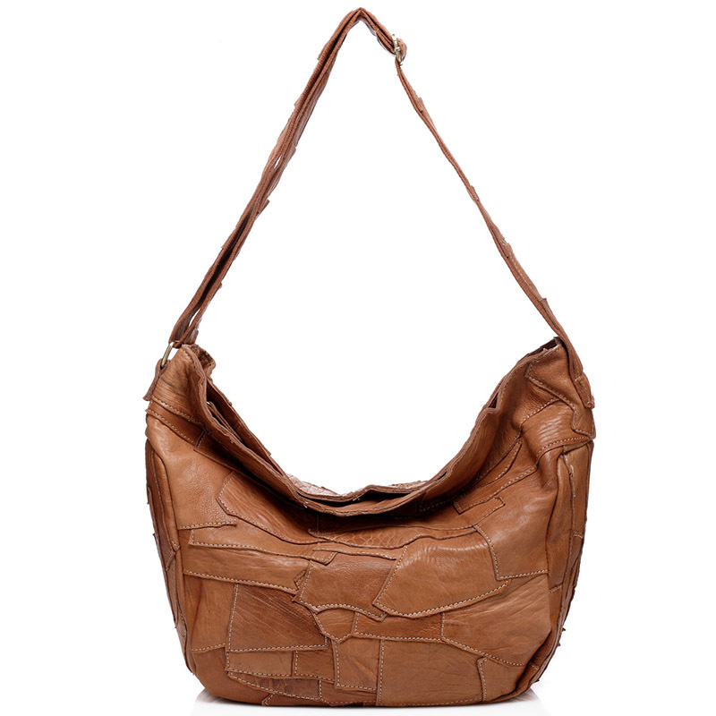 Genuine Leather Women Bags Fashion Women Shoulder Bag Fringe Patchwork Handbags Large Capacity Casual Crossbody Bag 2017 new classic casual patchwork large tote lady split leather handbags popular women fashion shoulder bags bolsas qn029
