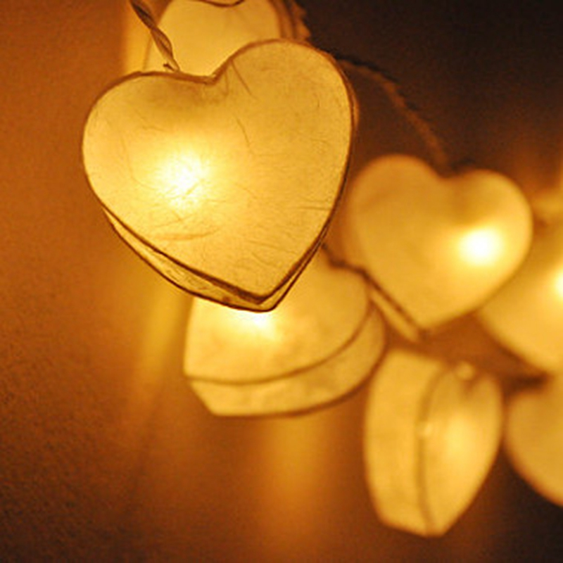 Creative Diy Manual Heart Shaped Lantern Bright Celebrate Birthday Special Package Mail Thailand Lights Lover In Holiday Lighting From