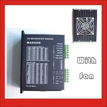 где купить MA860H CNC Stepper Motor Driver Board Controller For NEMA 23/34/43  2.0-7.8A AC18-80V or DC24-110V 2/4 Phase по лучшей цене