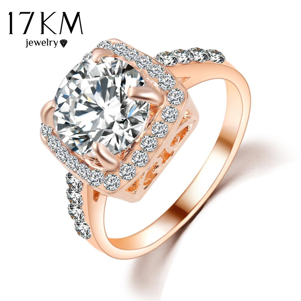 rose gold wedding rings for women 17km geometric wedding rings for women gold 7125