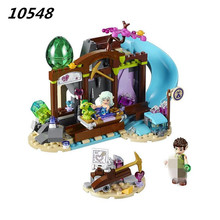 10548 Elves The Precious Crystal Mine Building Block Set Naida Farran figures baby dragon Toys for children Compatible 41177