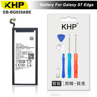 KHP 2017 Original KHP Phone Battery For Samsung Galaxy S7 Edge G935F G9350 Battery EB BG930ABE