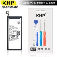 KHP 2018 Original KHP Phone Battery For Samsung Galaxy S7 Edge G935F G9350 Battery EB BG930ABE