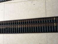 Antique Old Chinese wood abacus/ counting frame, Long 117CM,Hand carved crafts,Decoration,Collection&Adornment
