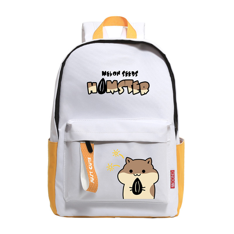 Women Backpacks Hamster Mochilas Travel-Bag Female Rucksack Print Girls Fashion Cartoon