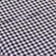 1 Pezzo 100% Cotone Tinta Unita Nero Plaid Tessuto Stampato 150*50 Cm Tilda Panno Quilting Patchwork Tissue Per I Giocattoli Portafoglio Pb103