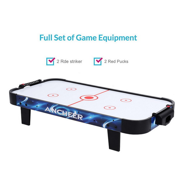 40inch Table Top Air Hockey Electric Powered Air Hockey Sports & Entertainment