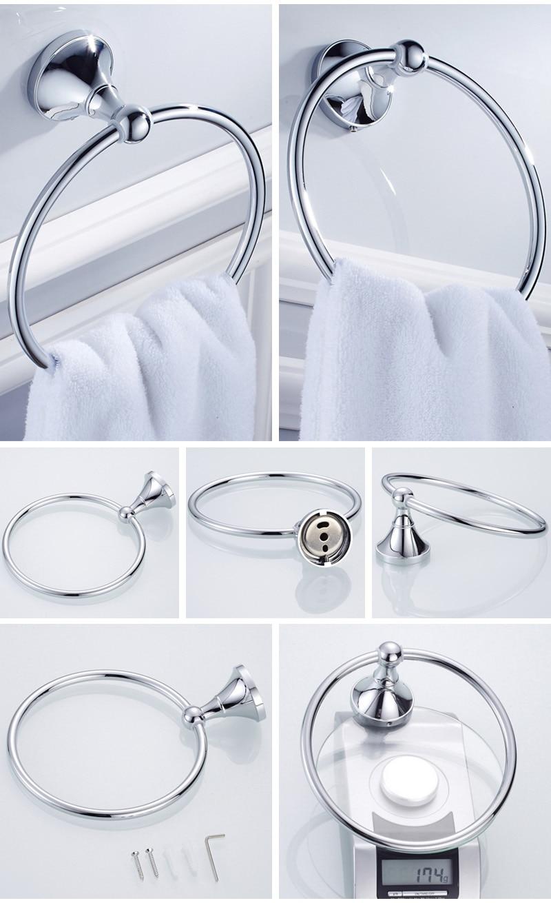 towel ring Holder chrome 2