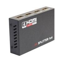 HDCP HDMI Splitter Full HD 4K Video HDMI Switch Switcher 1X4 Splitter Repeater 1 In 4