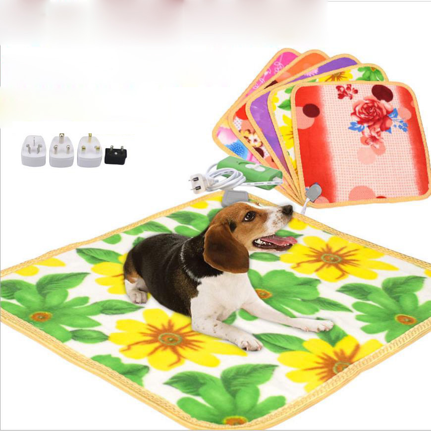 Dynamic Dog Bed House Pet Warm Electric Heated Pad Mat Blanket Cozy Bed Dog Cat Perros Cama Perro Bunny Heater Mat Blanket Bed Bed Home Heaters
