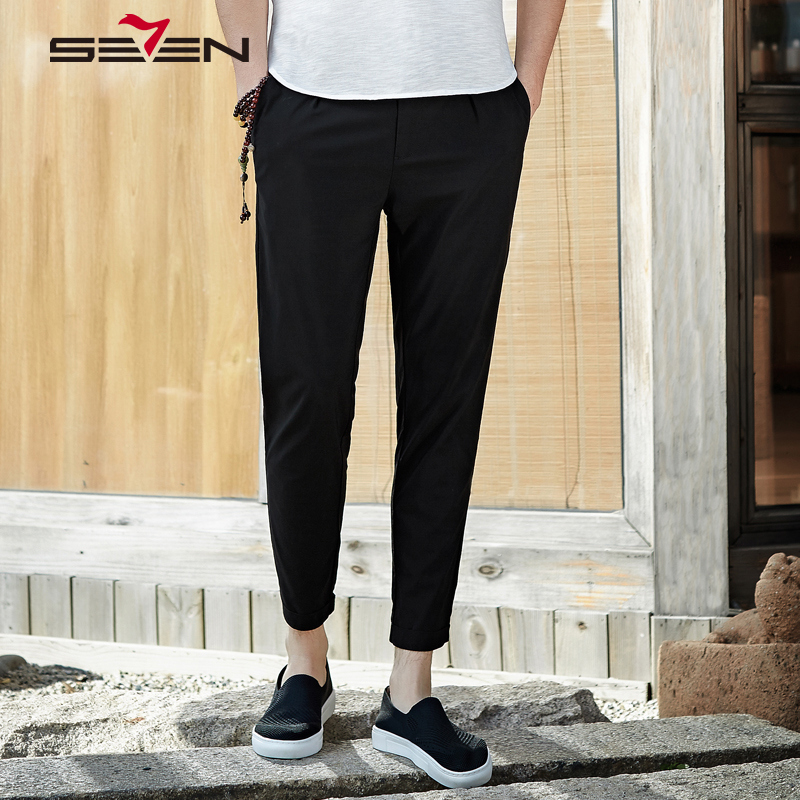 Seven7 Men Harem Pants Brand 2018 New Casual Summer Spring Pants Male Trousers Mens Joggers Work Cargo Plus size XXXL 112S8M030