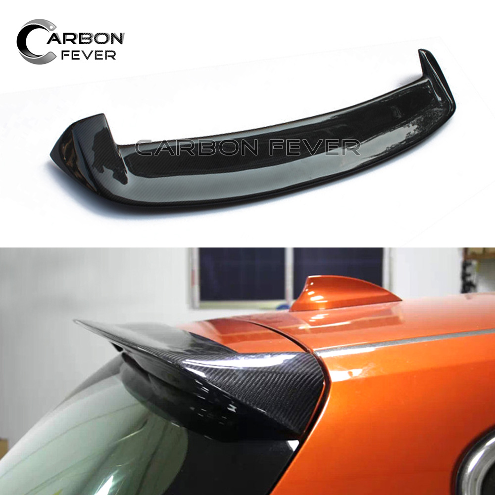 1 Series F20 Carbon Fiber Roof Spoiler for BMW F20 Hatchback 116i 118i 120i 125i 135i Gloss Black Car Styling Spoilers 2012 2014