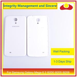 Image 4 - 10Pcs/lot For Samsung Galaxy Mega 6.3 i9200 i9205 i9208 GT I9200 Housing Battery Door Rear Back Cover Case Chassis Shell