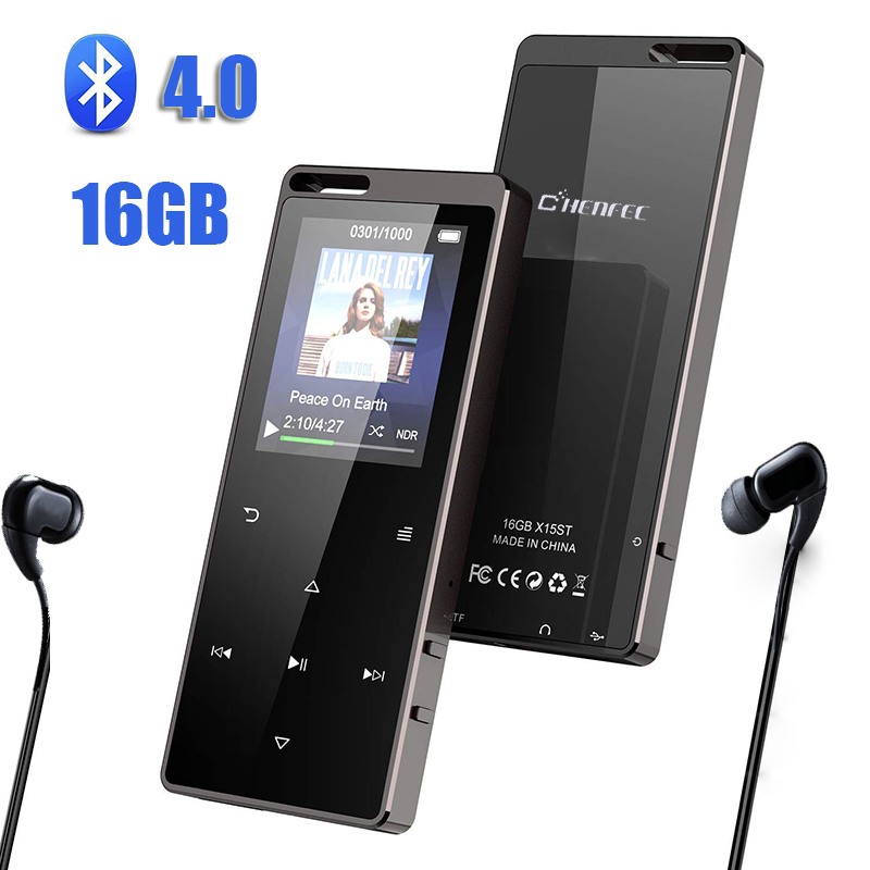 C15 HIFI MP3 Player With Headphones bluetooth4 0 FM Radio E Book Reading Mini USB Music