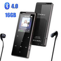 C15 HIFI MP3 Player With Headphones bluetooth4.0 FM Radio E-Book Reading Mini USB Music Player Audio Lecteur MP3 Walkman LCD