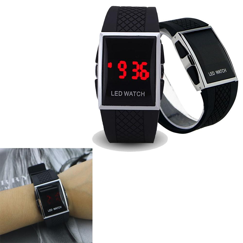 Fashion Men LED Digital Watch Date Sports Quartz Waterproof Luxury Wrist Watch