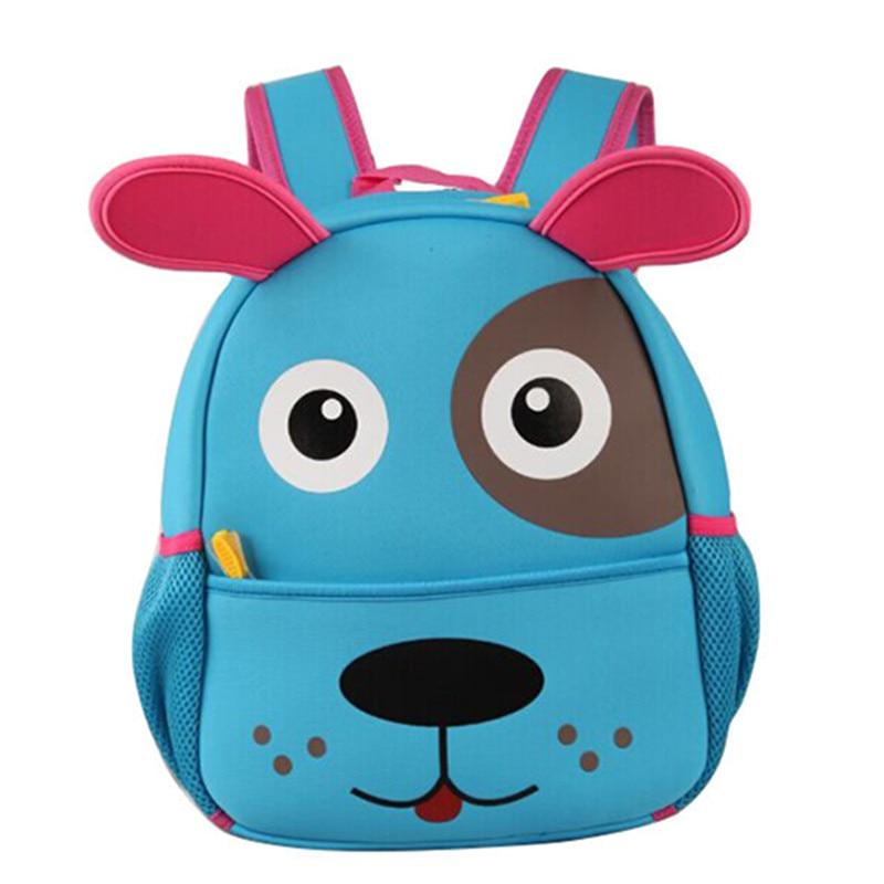 59b26c8db4a0 4 colors adorable dog puppy design school backpacks kindergarten children s  bag for baby girl and boys knapsack