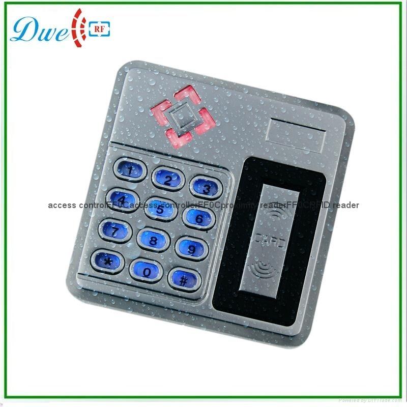 ФОТО free shipping metal case 100% Waterproof 13.56MHz MF IC Proximity Reader RFID Reader