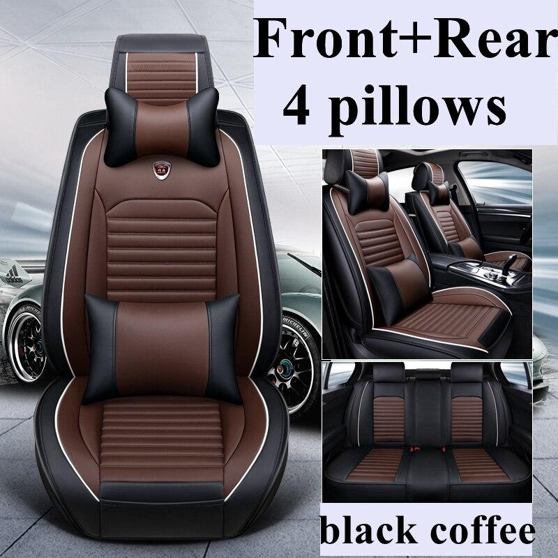BLACK FIAT QUBO PREMIUM CAR SEAT COVER PROTECTOR X1 100/% WATERPROOF
