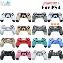 YuXi obudowa z tworzywa sztucznego obudowa do Sony Playstation 4 PS4 JDM 001 JDM 011 kontroler bezprzewodowy wymienne etui pokrywa