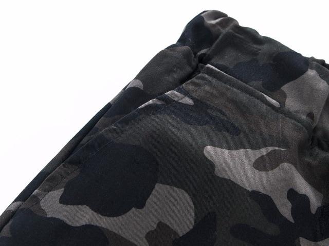 100 Cotton Mens Jogger Autumn Pencil Harem Pants 2018 Men Camouflage Military Pants Loose Comfortable Cargo Trousers Camo Jogger 3